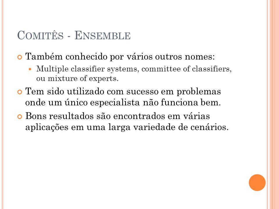 Comitês - Ensemble Também conhecido por vários outros nomes: