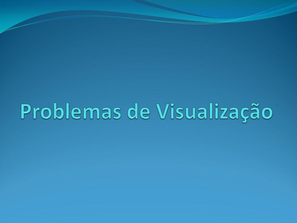 Problemas de Visualização