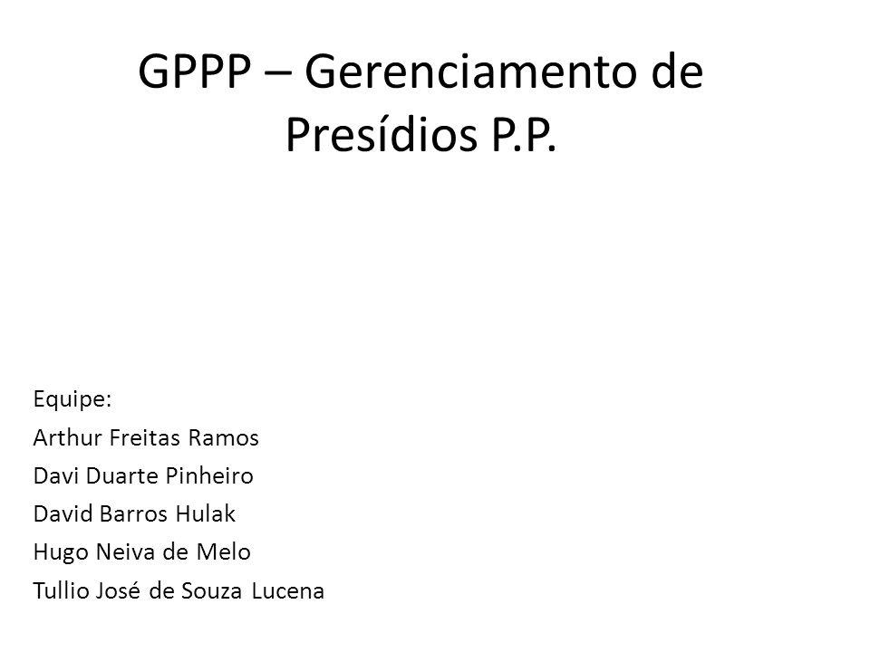 GPPP – Gerenciamento de Presídios P.P.