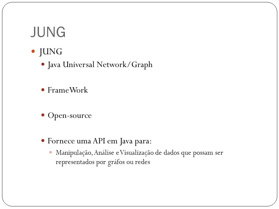 JUNG JUNG Java Universal Network/Graph FrameWork Open-source