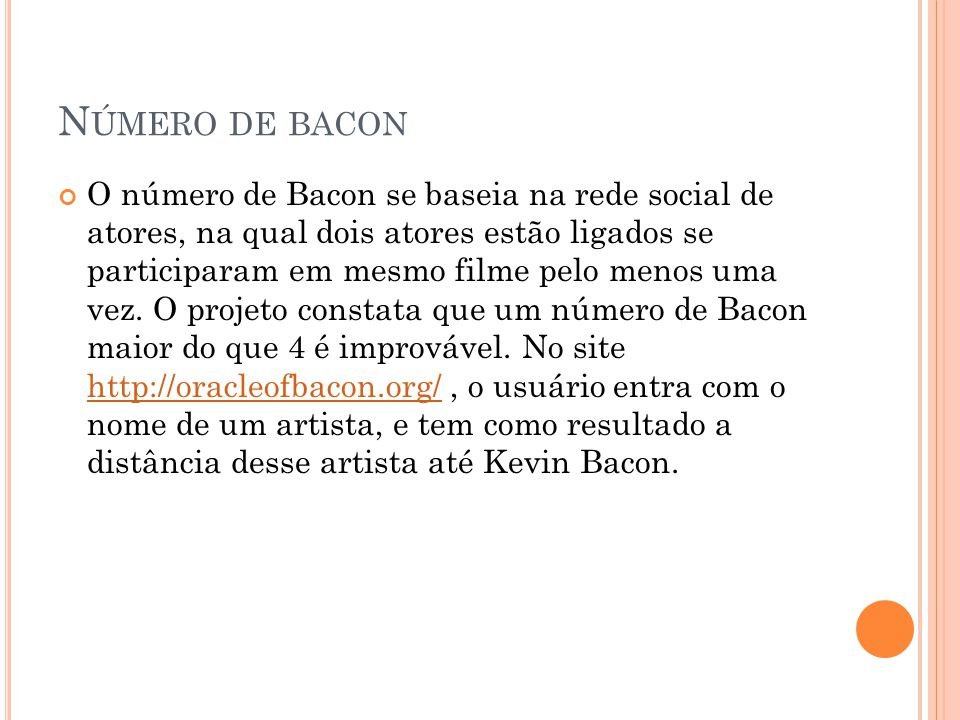Número de bacon