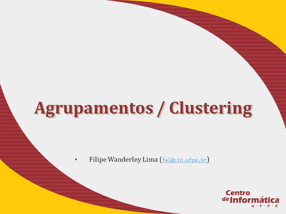 Agrupamentos / Clustering