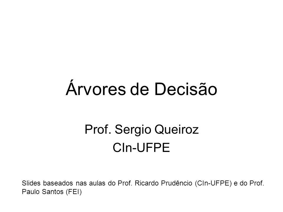 Prof. Sergio Queiroz CIn-UFPE