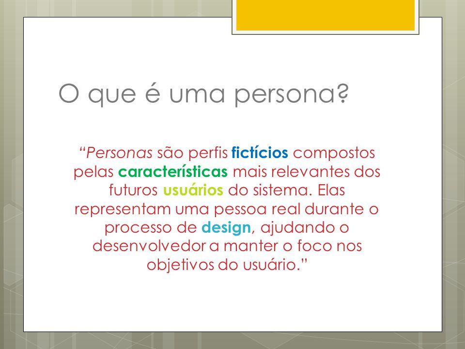 O que é uma persona