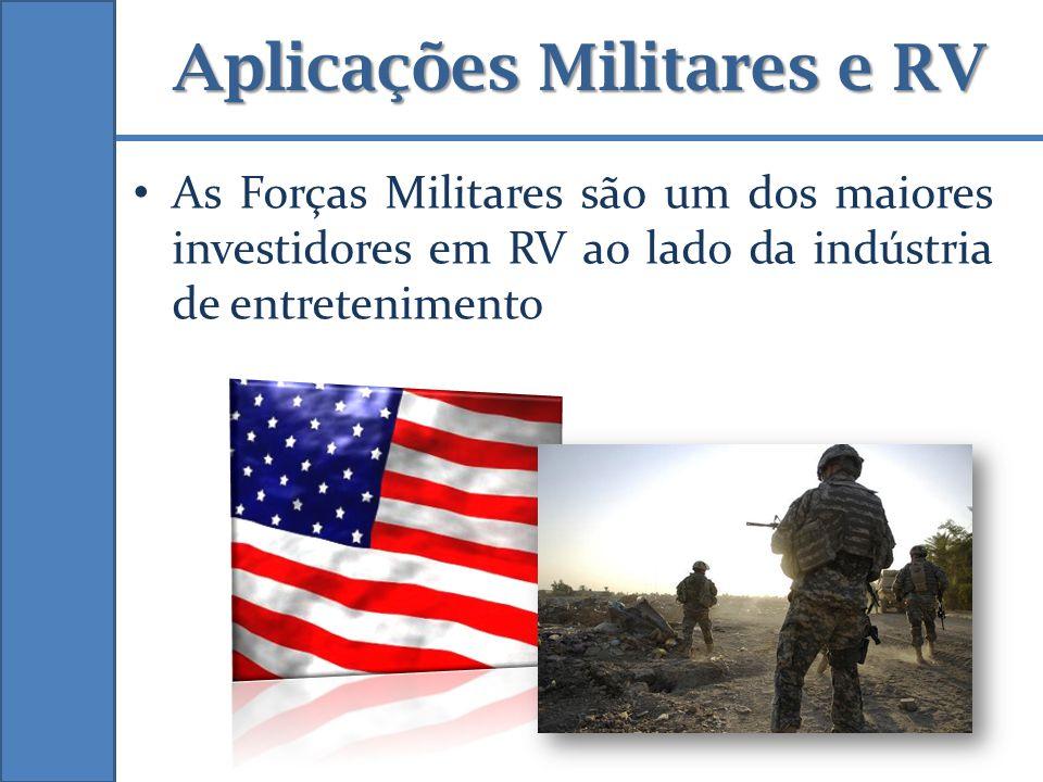 Aplicações Militares e RV