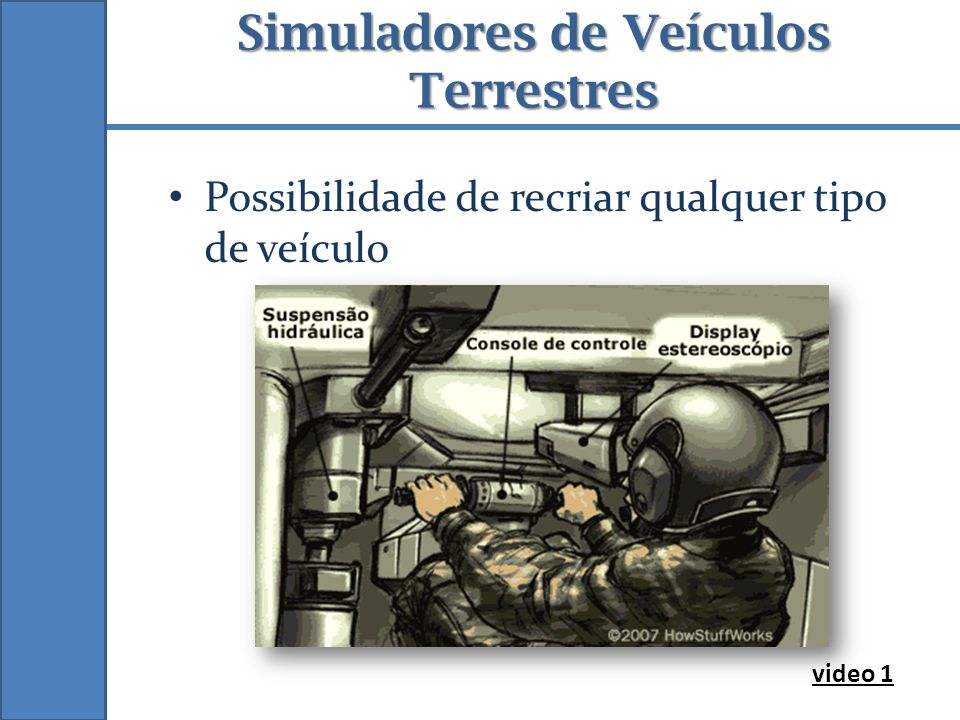 Simuladores de Veículos Terrestres