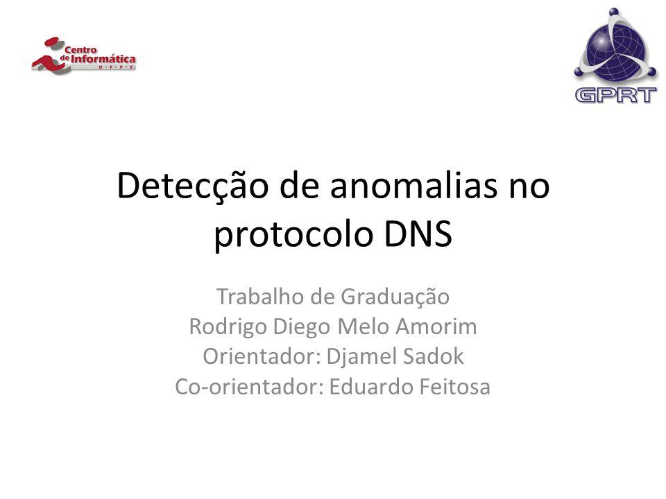 Detecção de anomalias no protocolo DNS