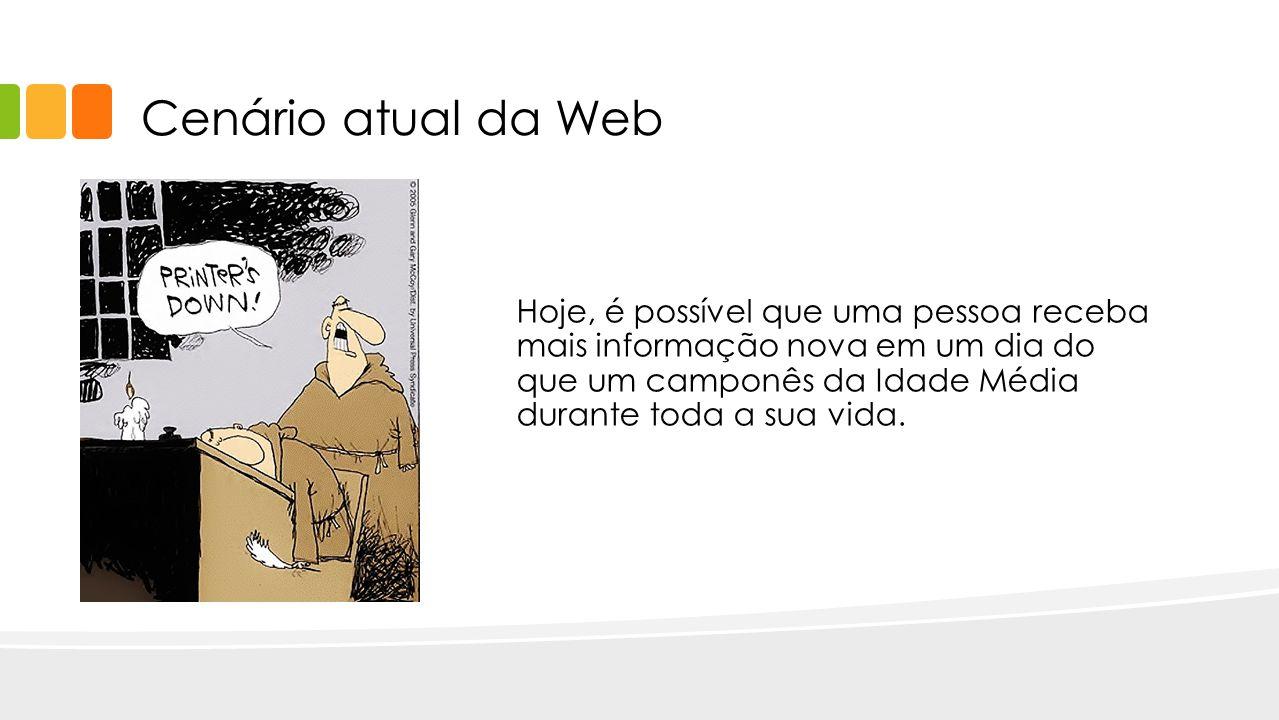 Cenário atual da Web