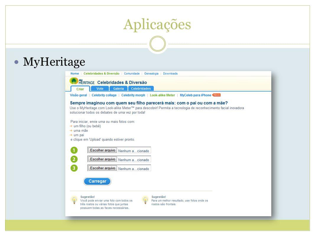 Aplicações MyHeritage