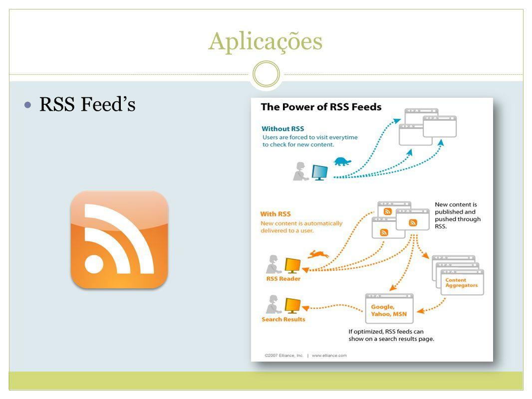 Aplicações RSS Feed's