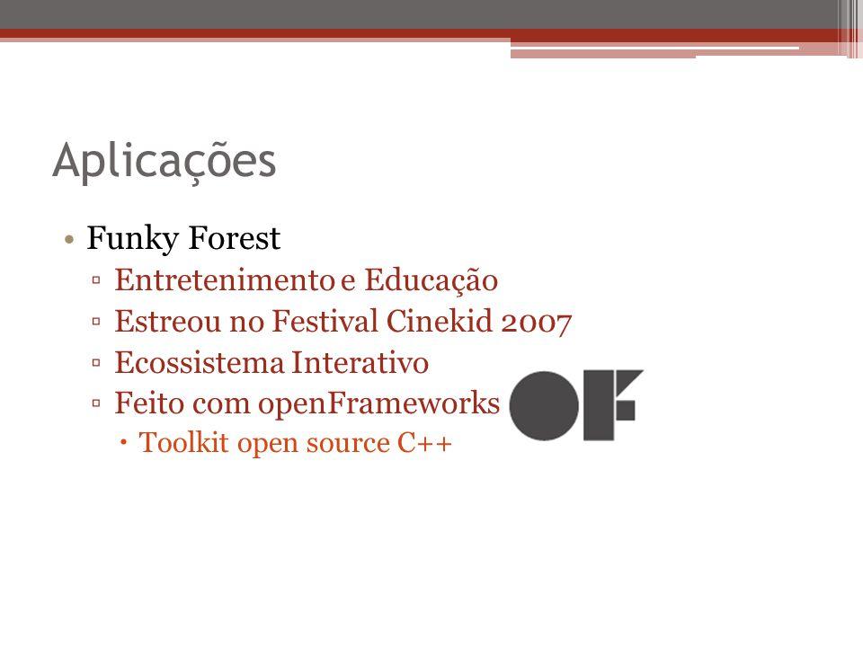 Aplicações Funky Forest Entretenimento e Educação