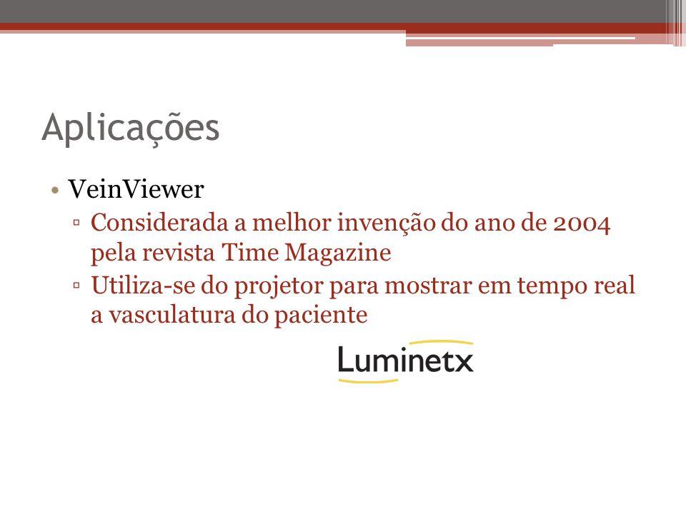 Aplicações VeinViewer