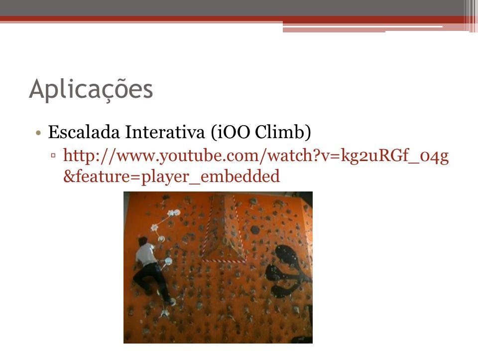 Aplicações Escalada Interativa (iOO Climb)