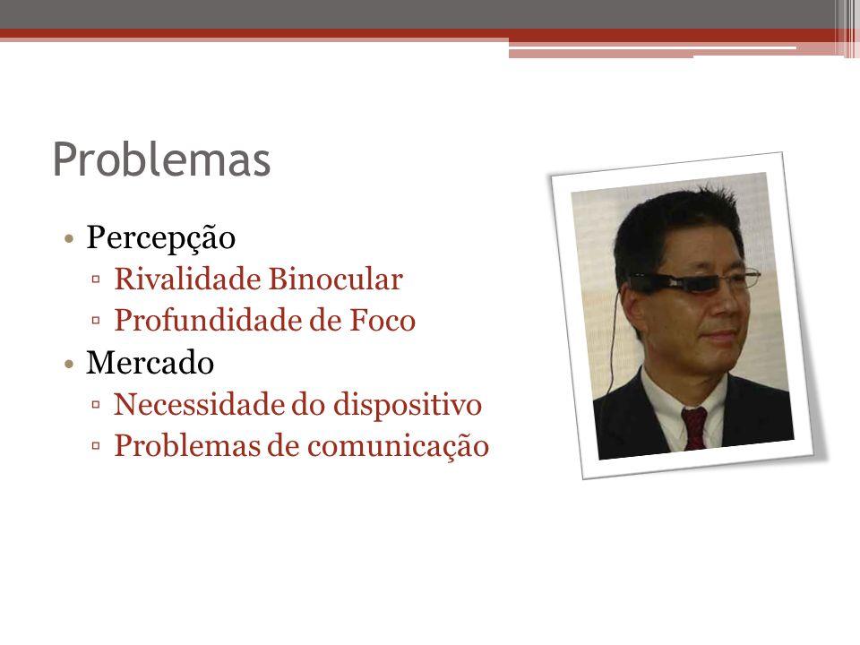 Problemas Percepção Mercado Rivalidade Binocular Profundidade de Foco