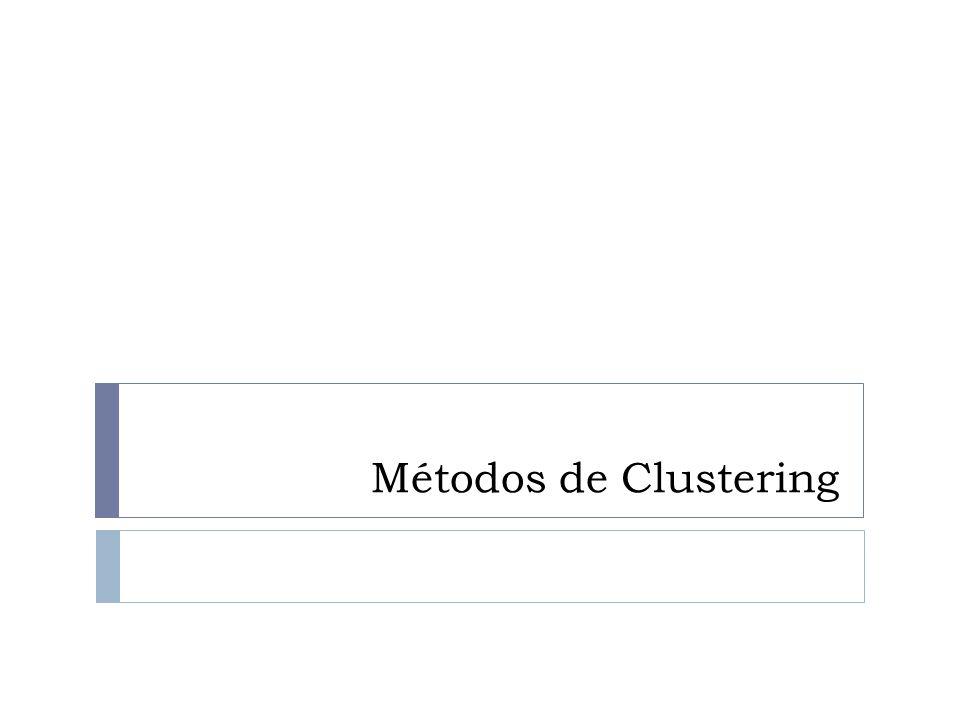 Métodos de Clustering