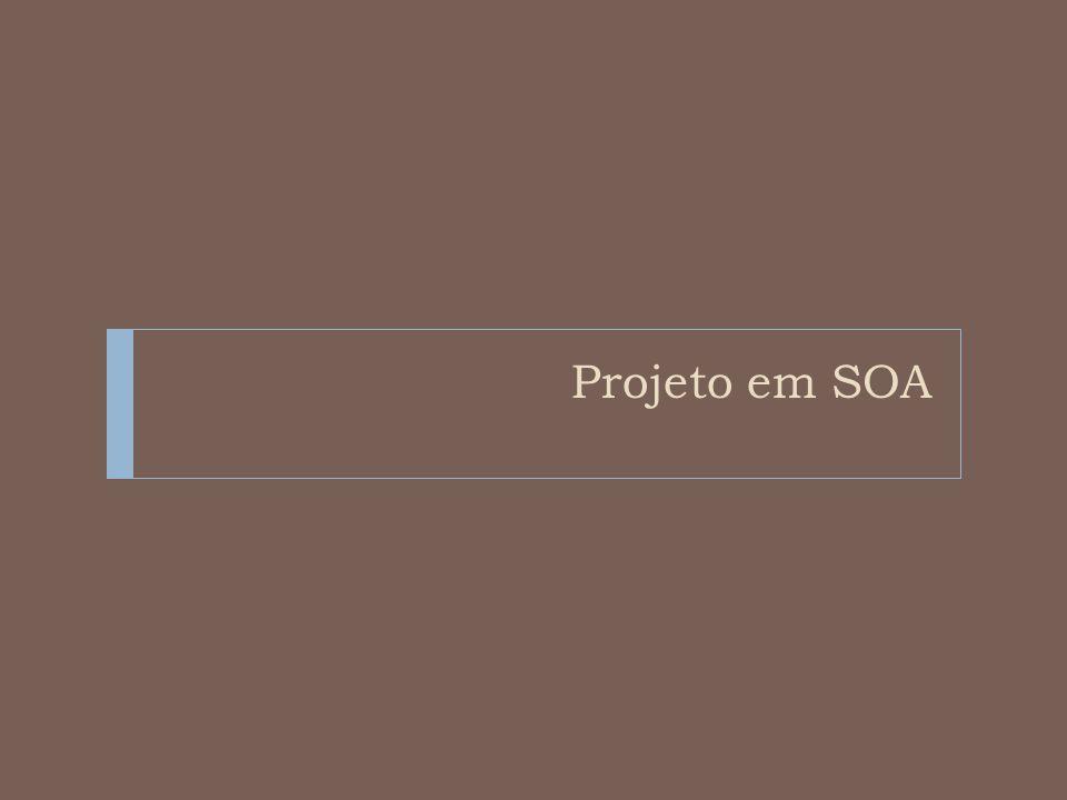 Projeto em SOA