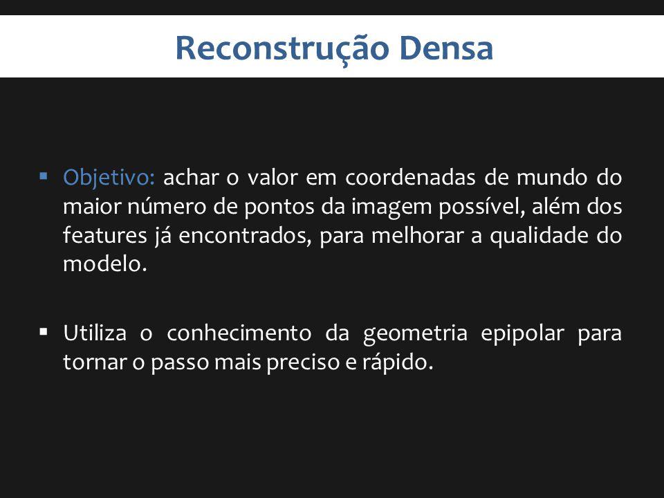 Reconstrução Densa