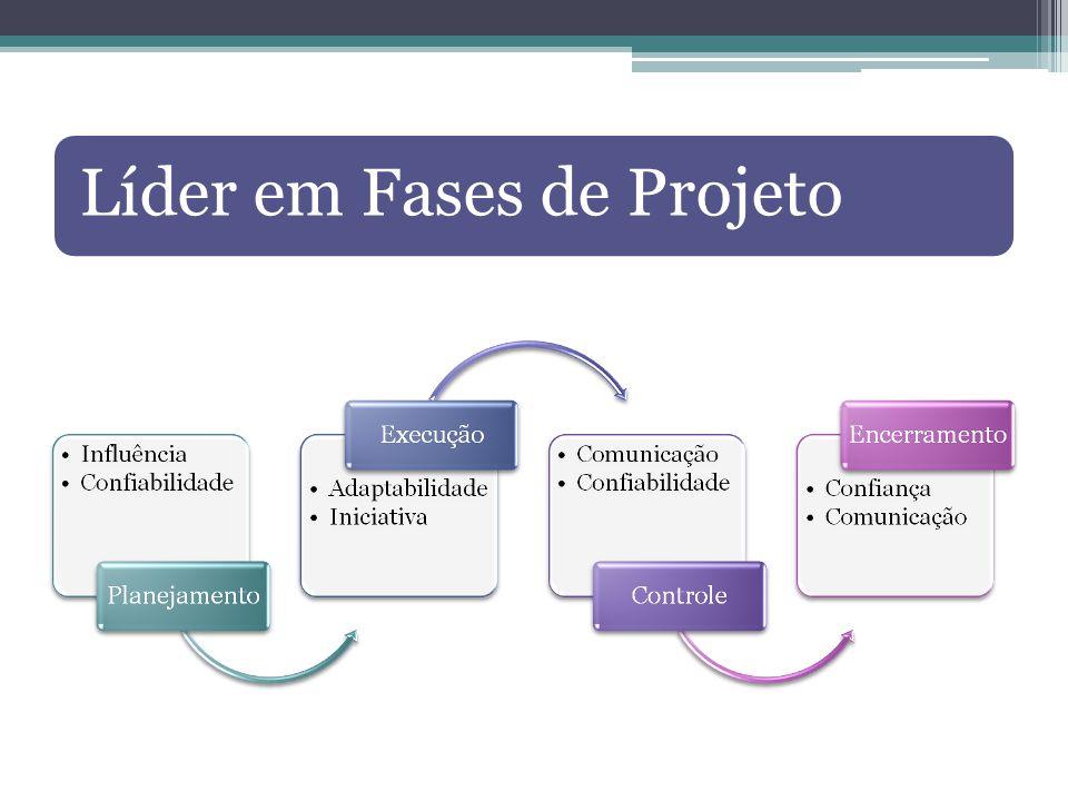 Líder em Fases de Projeto