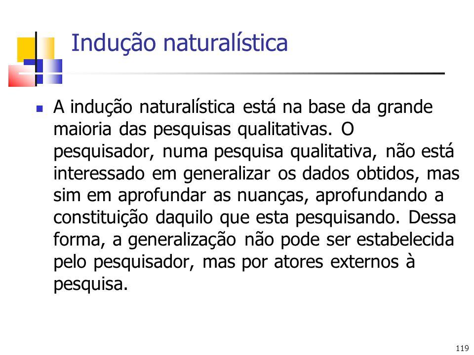 Indução naturalística