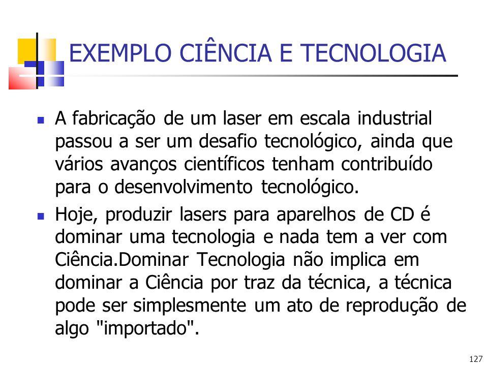 EXEMPLO CIÊNCIA E TECNOLOGIA