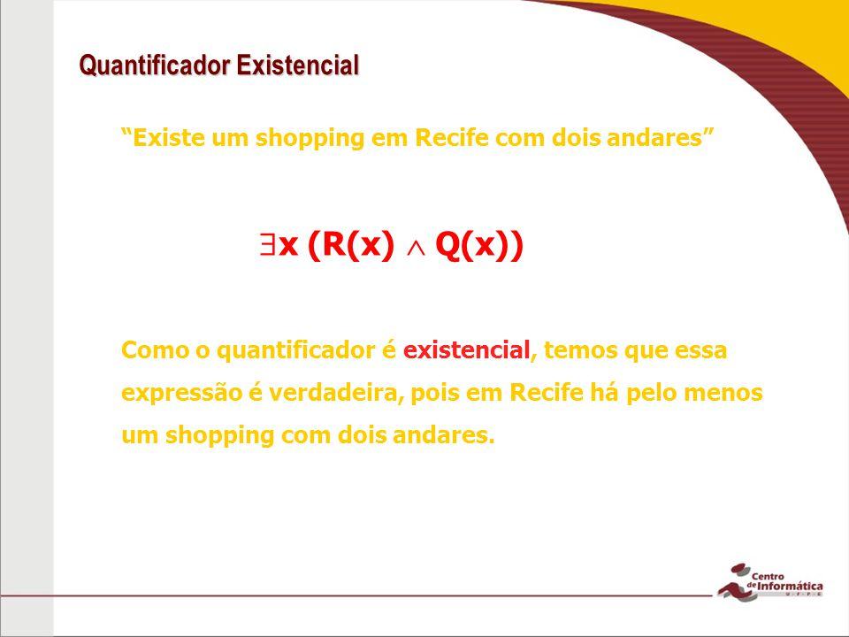Quantificador Existencial