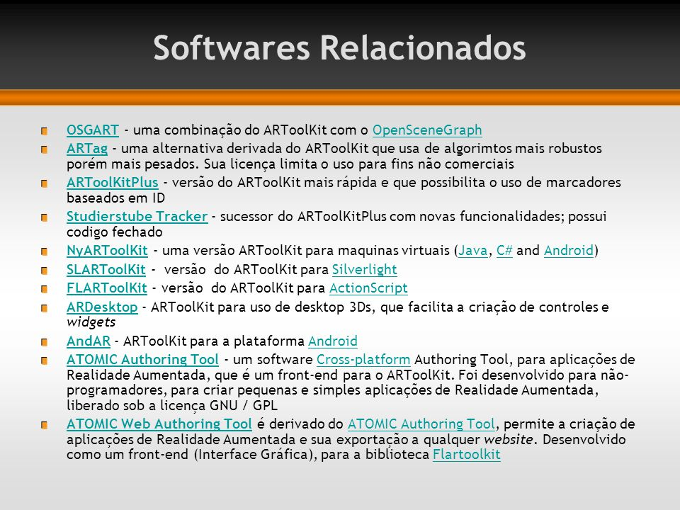Softwares Relacionados