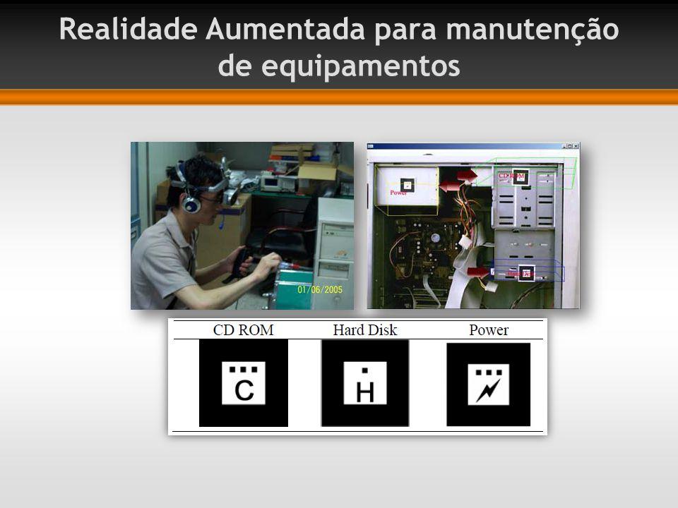 Realidade Aumentada para manutenção de equipamentos