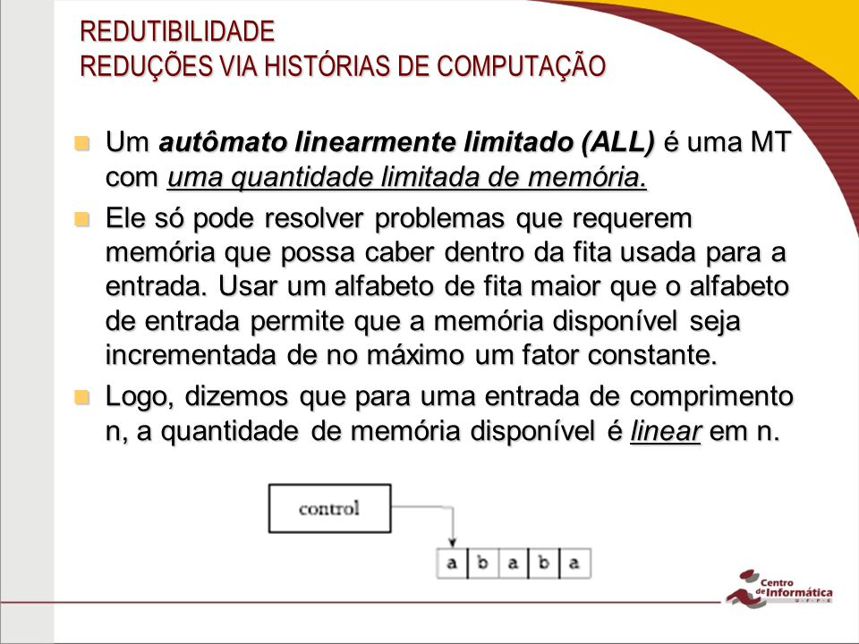 REDUTIBILIDADE REDUÇÕES VIA HISTÓRIAS DE COMPUTAÇÃO