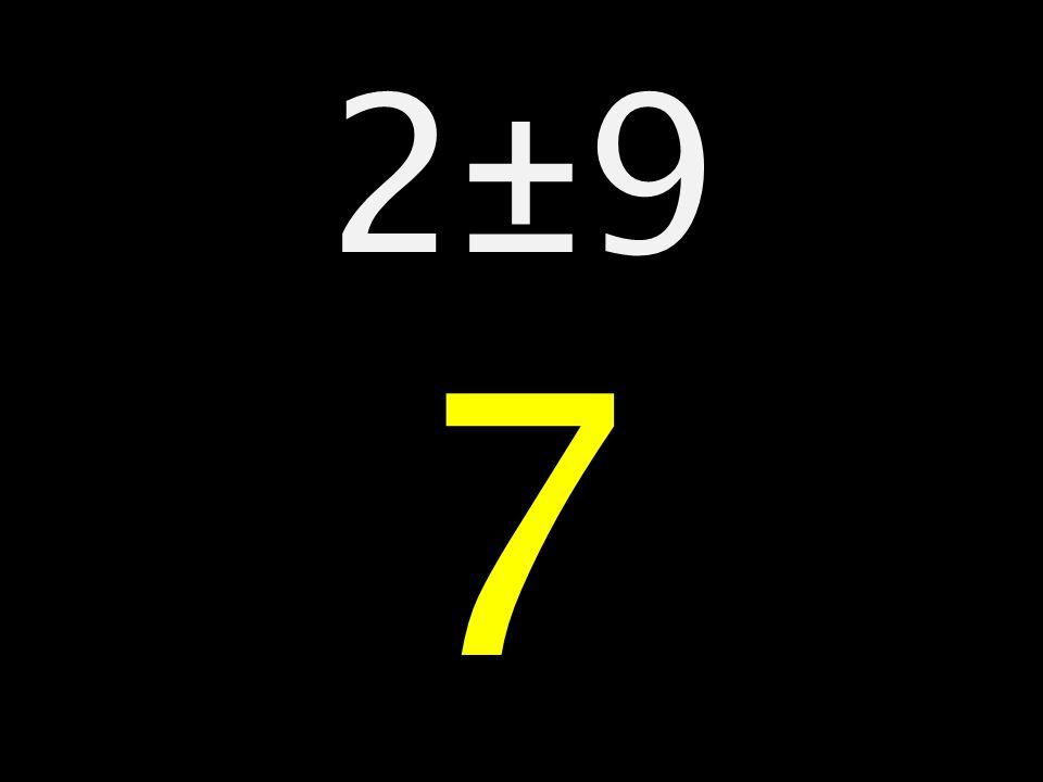 2±9 7.