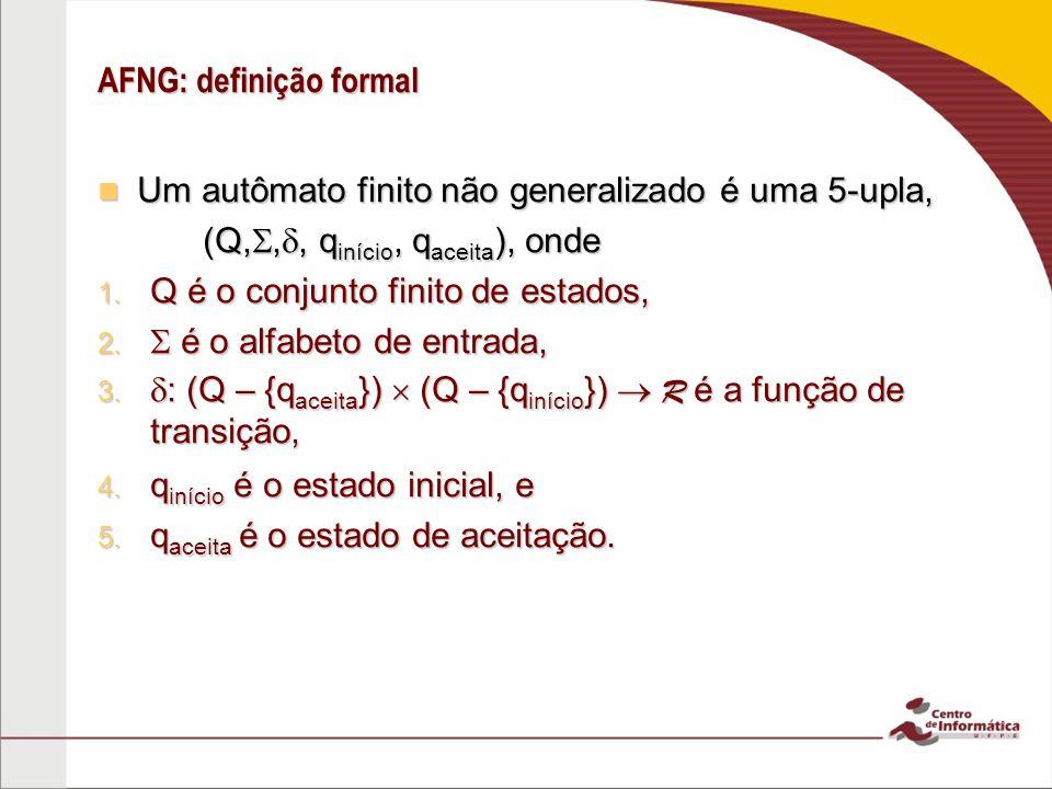 AFNG: definição formal