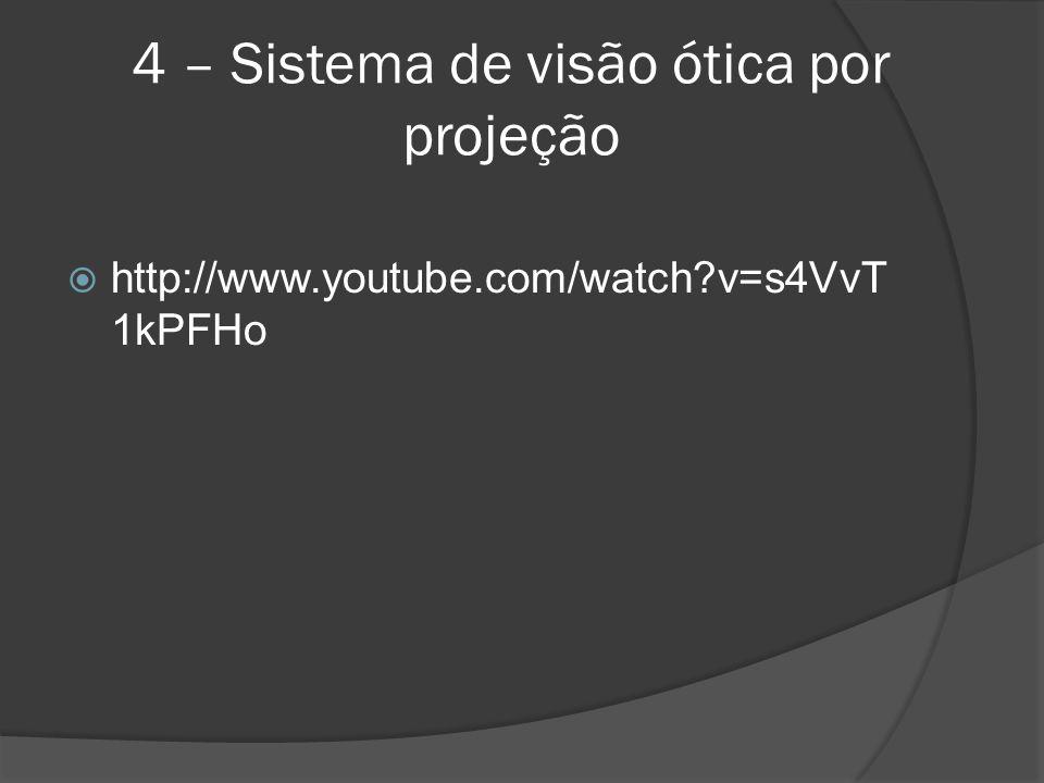 4 – Sistema de visão ótica por projeção