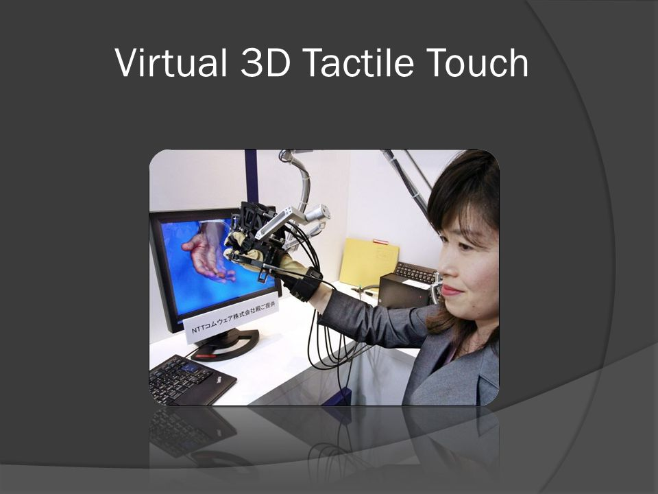 Virtual 3D Tactile Touch