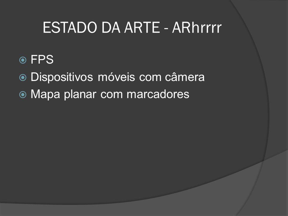 ESTADO DA ARTE - ARhrrrr
