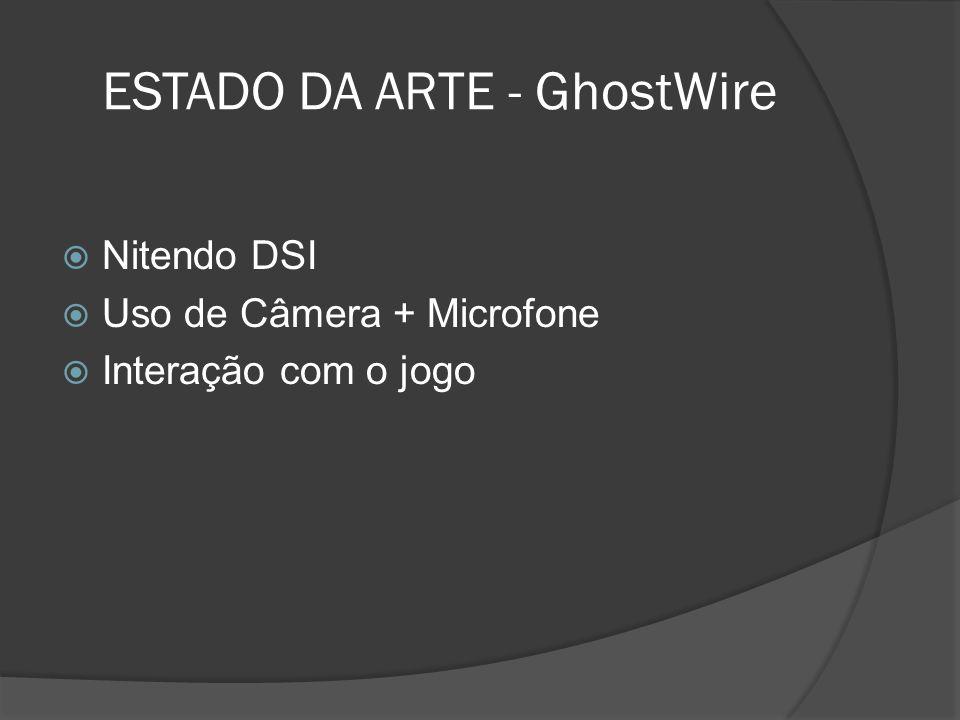 ESTADO DA ARTE - GhostWire
