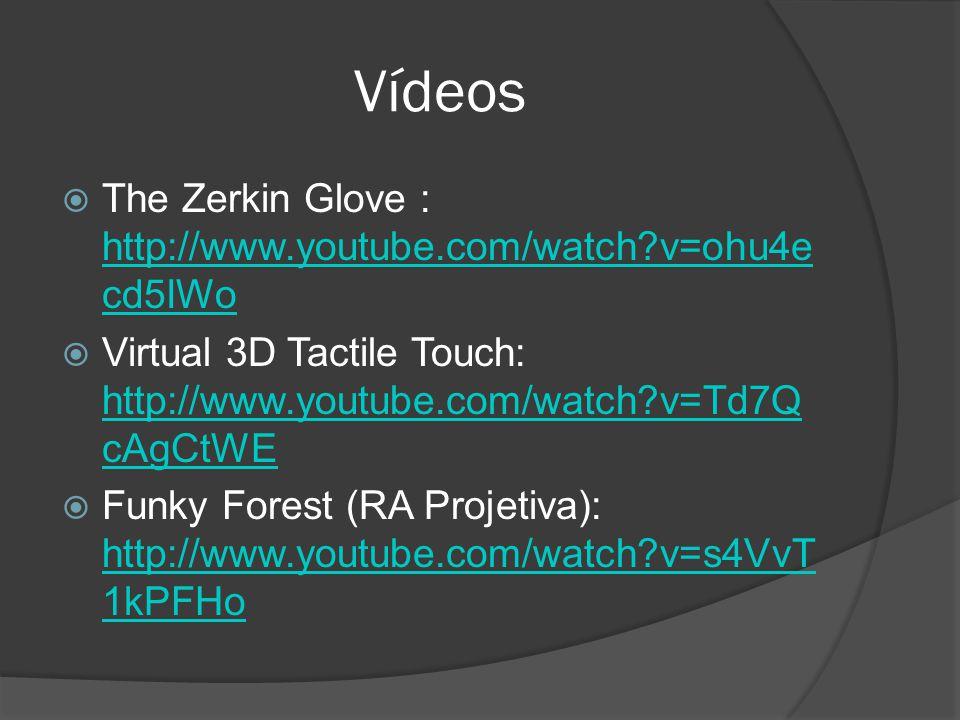 Vídeos The Zerkin Glove : http://www.youtube.com/watch v=ohu4ecd5IWo