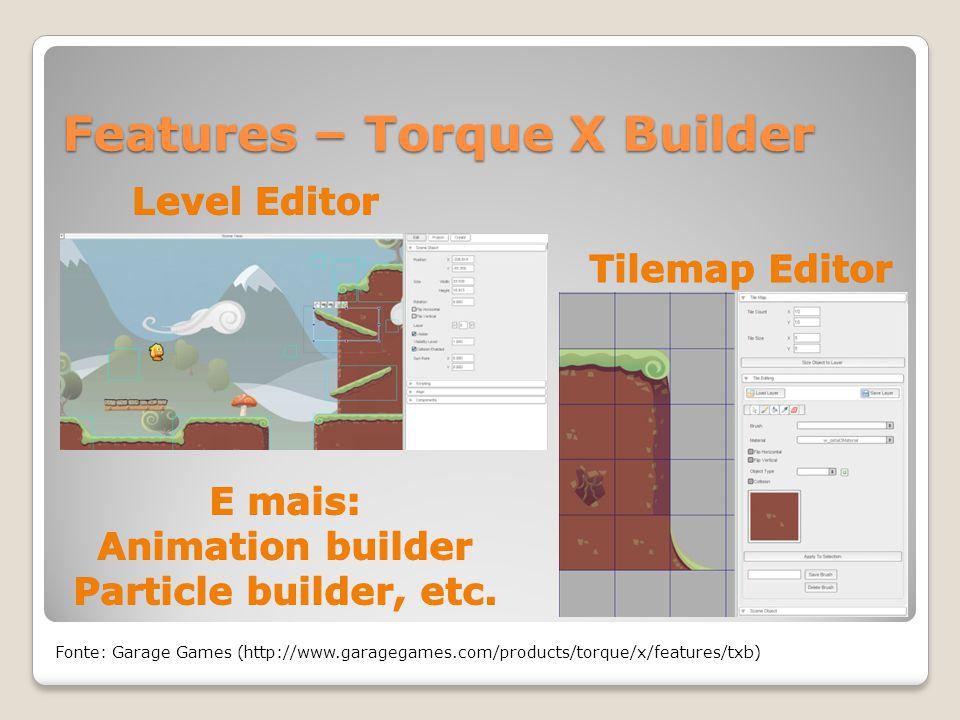 Features – Torque X Builder