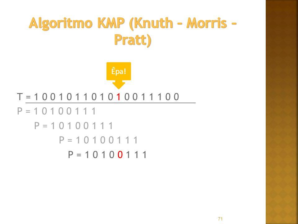 Algoritmo KMP (Knuth – Morris – Pratt)