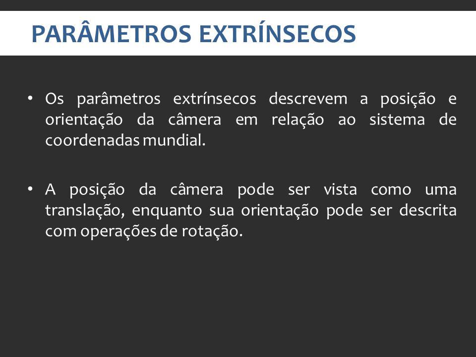 PARÂMETROS EXTRÍNSECOS