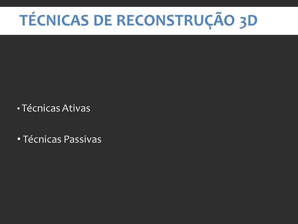 Técnicas de Reconstrução 3D