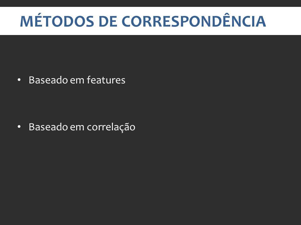 MÉTODOS DE CORRESPONDÊNCIA