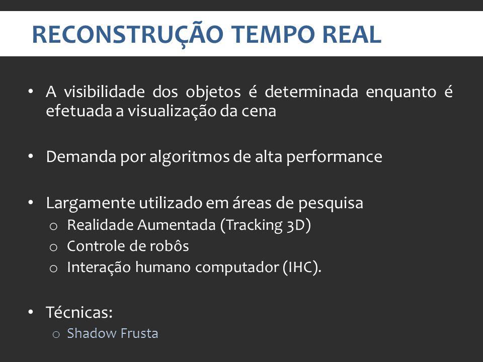 RECONSTRUÇÃO TEMPO REAL