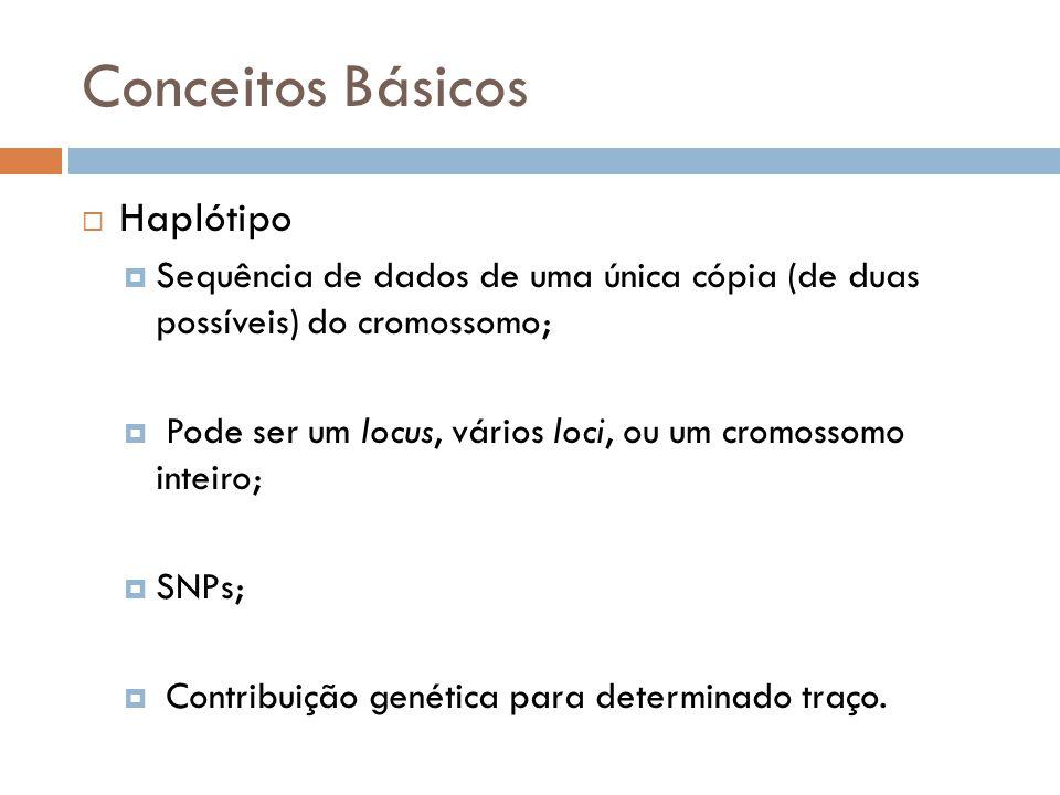 Conceitos Básicos Haplótipo