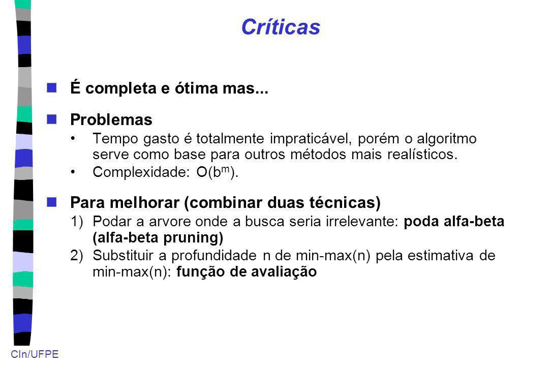 Críticas É completa e ótima mas... Problemas