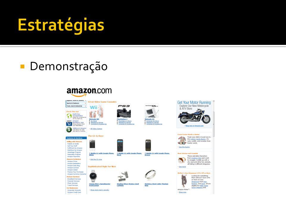 Estratégias Demonstração
