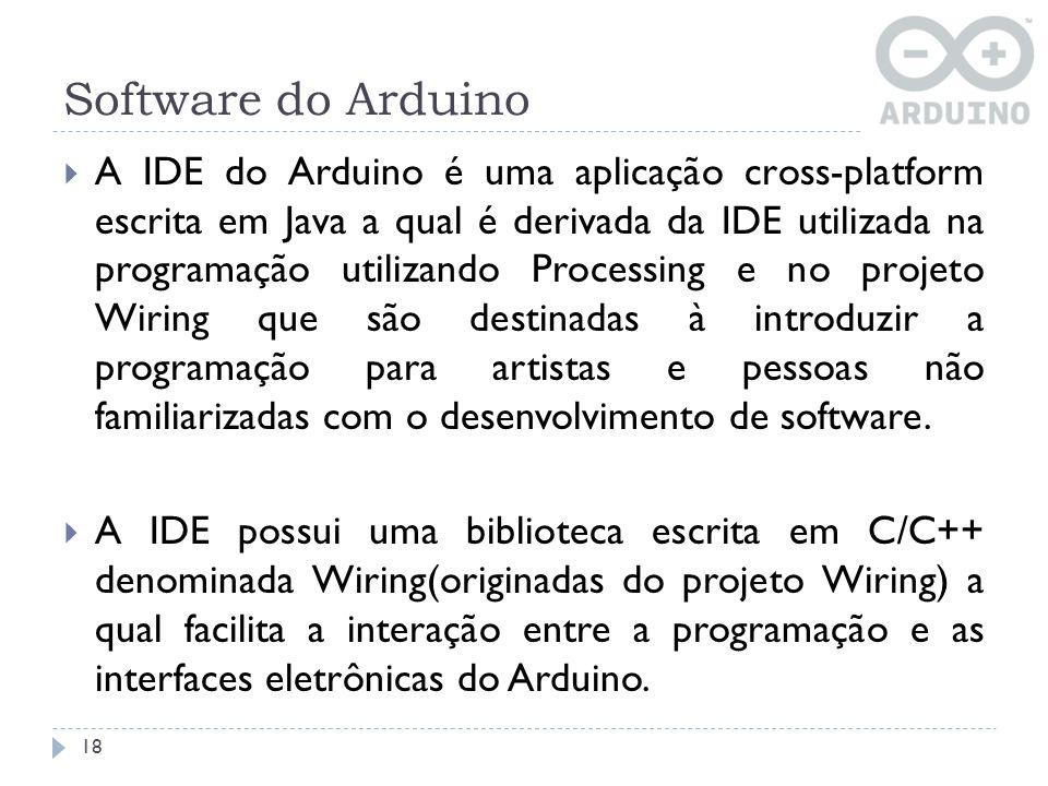 Software do Arduino