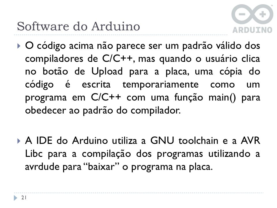 Software do Arduino