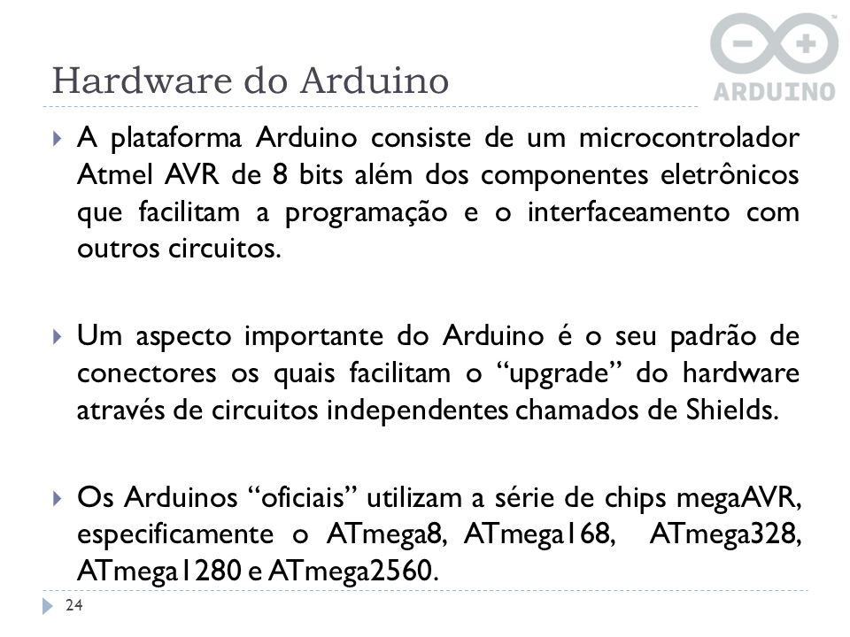 Hardware do Arduino
