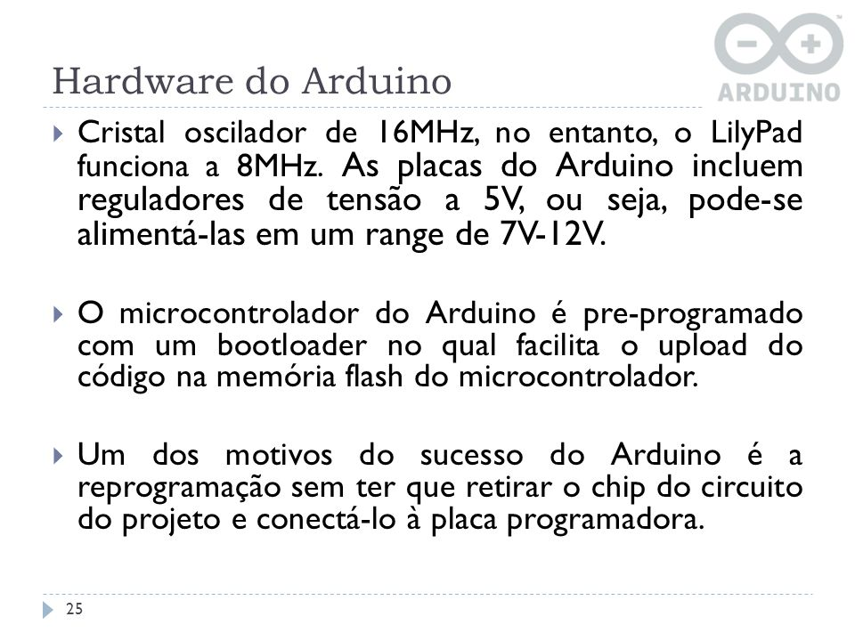 Hardware do Arduino