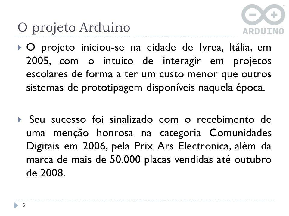 O projeto Arduino