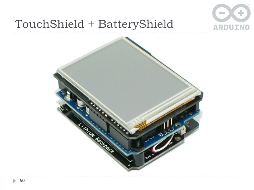TouchShield + BatteryShield